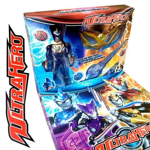 Mainan Action figure Ultraman / Action Figure Ultraman RB / Ultraman Hero box / Robot Ultraman / Mainan Ultraman Ultrahero
