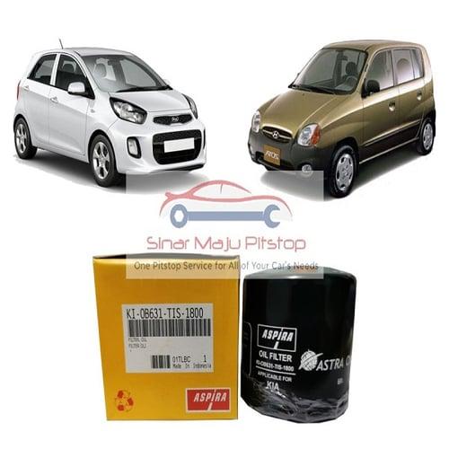 Astra Aspira Filter Oli Mobil MAZDA 323 INTERPLAY - MAZDA 2 (1.500CC) LAMA - MAZDA 3 (1.600CC) LAMA