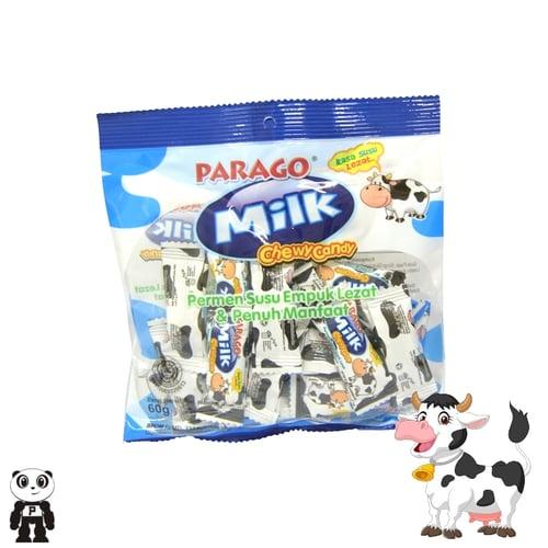 PARAGO Milk Chewy Candy Permen Susu Lunak 60g