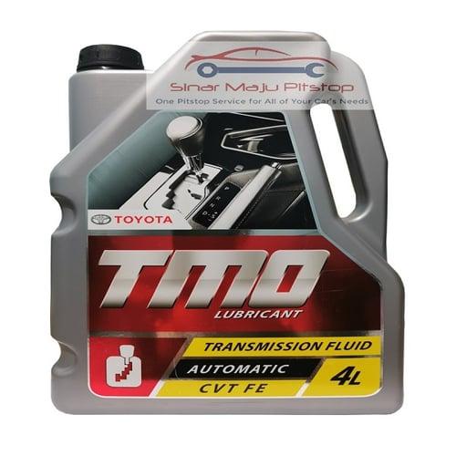 TOYOTA MOTOR OIL TMO CVT FE 4 Liter Original - Pelumas Oli Transmisi Matic / CVT Mobil TOYOTA CHR & TOYOTA C-HR & TOYOTA ALPHARD & TOYOTA VELLFIRE
