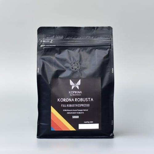 KORONA ESPRESSA Full Robusta Espresso Beans 500 Gr