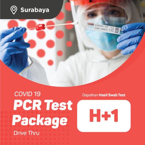 SURABAYA - PCR Swab Test H+1 Drive Thru