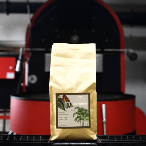 Kopikina Espresso Blend  -  SUMATRA DOUBLE PICK - Full Robusta 1000 Gr