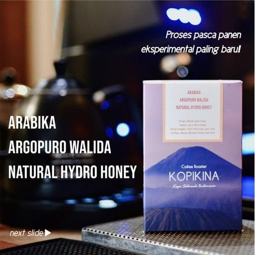 Kopi Arabika Argopura Walida Natural Hydro Honey 200 Gr