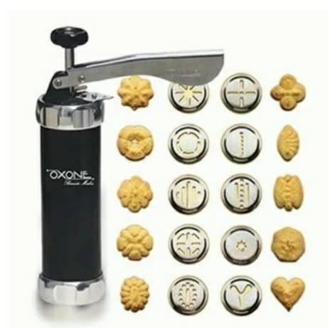 OXONE Biscuit Maker Pembuat Biskuit Cetakan Kue Kering Cookie