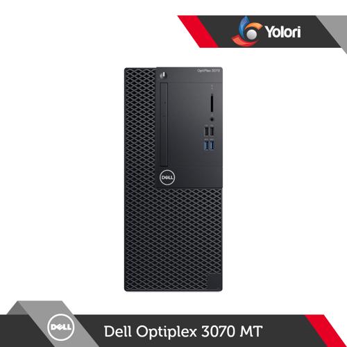 Dell Optiplex 3070 MT Ci3-9100, 4GB, 1TB, Intel UHD, Windows 10 Pro + Dell Monitor E2016H