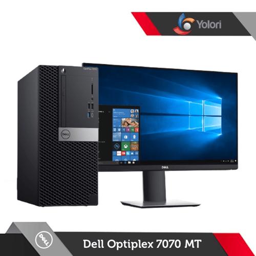 Dell Optiplex 7070 MT Ci7-9700, 8GB, 1TB, AMD 4GB, Windows 10 Pro + Dell Monitor E2216H