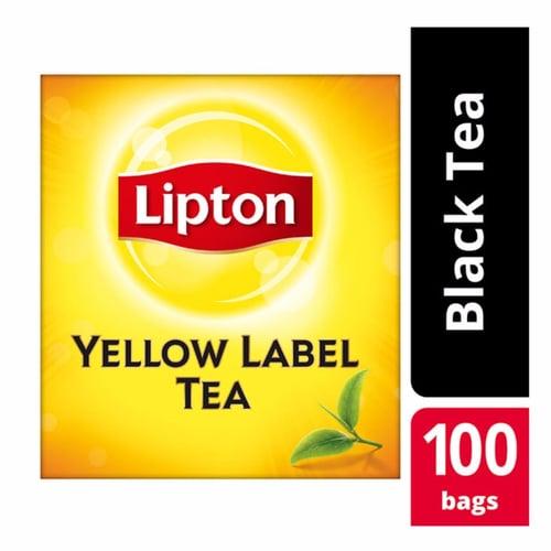 Lipton Yellow Label 100 Tea Bag Non Envelope