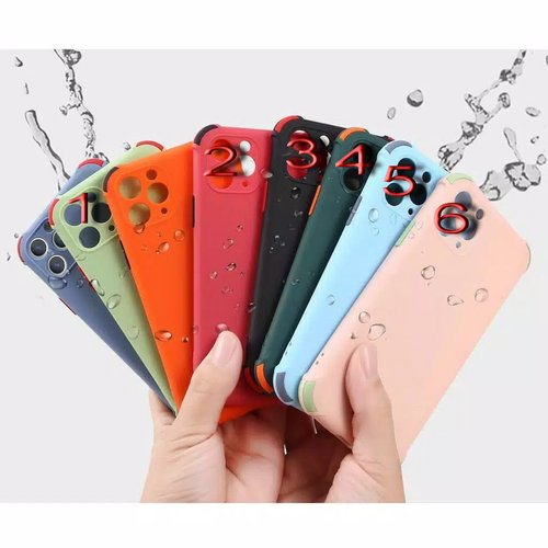 Case Softjacket 2 Tone Macarons Oppo A5 / A9 2020, A1K, A3S, A5S A7 F9 A12, A52 A92, A33, A53, A15, A11K, Reno 3 4F, F17, Pro, Realme 5 5i, 6 Narzo, 7, 7i, Pro, C1, C2, C3, C11, C12 C15, C17