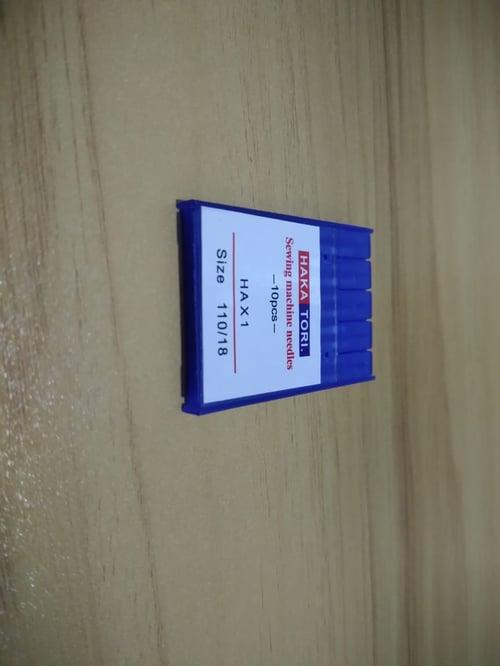 Jarum mesin jahit portable multifungsi 110/18