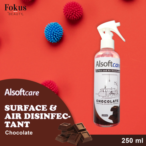 Disinfectant Spray Ruangan Anti Bacterial / Alsoftcare Surface and Air Disinfectant 250 - Chocolate