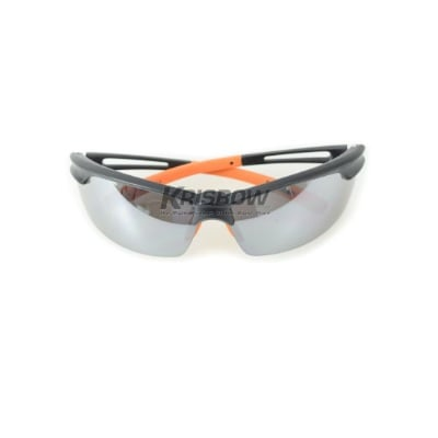 Kacamata Safety Spectacle With Nosepad Silver Krisbow KW1000546