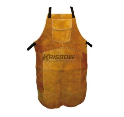 Welding Apron Brown Krisbow KW1000480