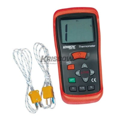 Thermometer Digital 2 Probe -50 To 1300C Krisbow KW0600283