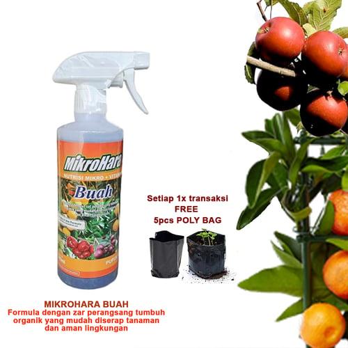 Mikrohara Pupuk Cair Buah 500ml / GA Premium