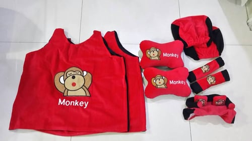 Bantal Mobil Exclusive 5 in 1 Monkey