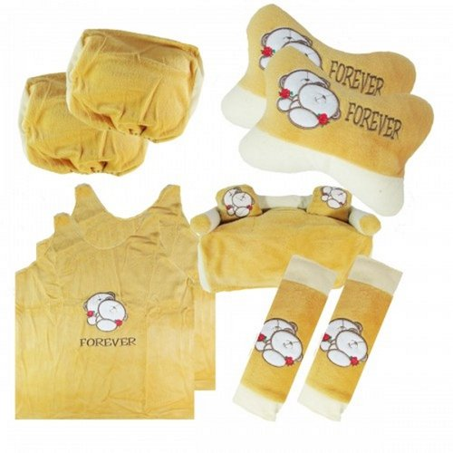 Bantal Mobil Exclusive 5 in 1 Bear Forever Friends