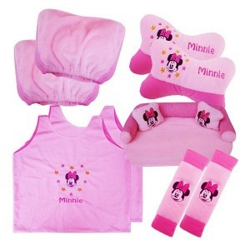 Bantal Mobil Exclusive 5 in 1 Minnie