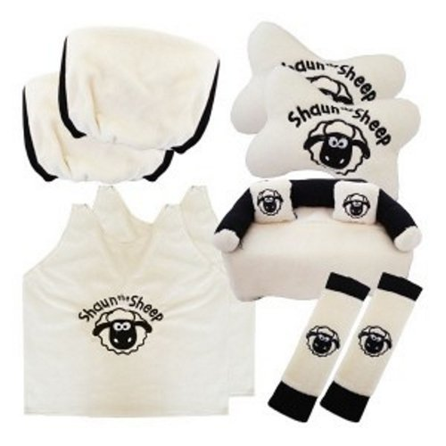 Bantal Mobil Exclusive 5 in 1 Shaun the Sheep