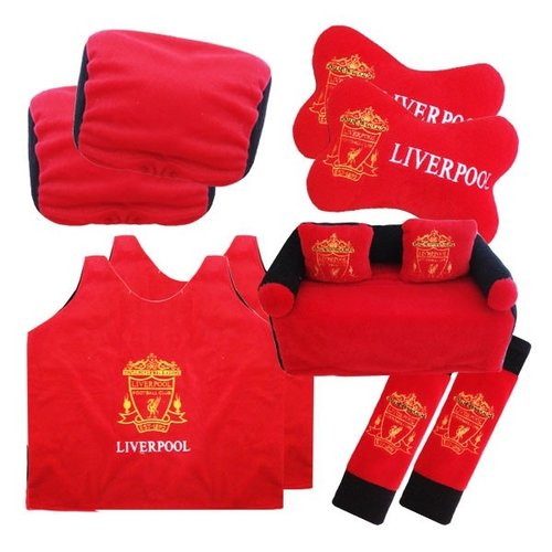 Bantal Mobil Exclusive 5 in 1 Liverpool