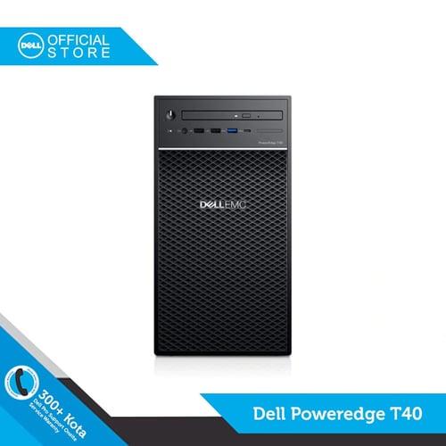 Dell Poweredge T40-Xeon E-2224G, 8GB, 1TB, DOS-DELL OFFICIAL