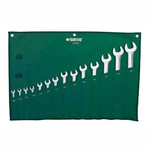 Sata Combination Wrench Set 14 Pcs Metric Kunci Ring Pas 09062