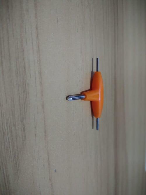 Obeng T L 3 in 1 segitiga kunci mini