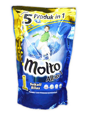 MOLTO All In 1 Blue Pouch 900ml