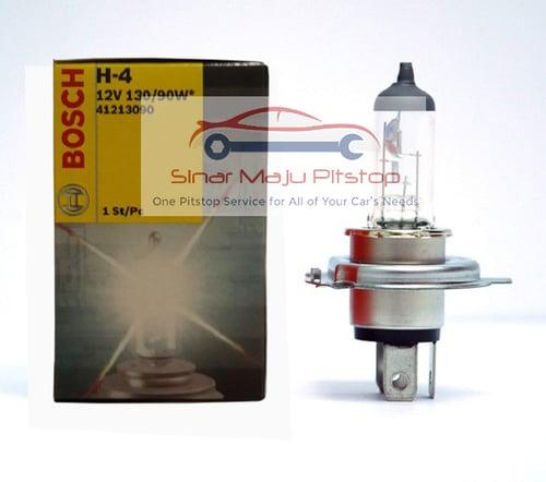 BOSCH Bohlam Halogen Lampu Mobil H4 12V 130-90W P43T