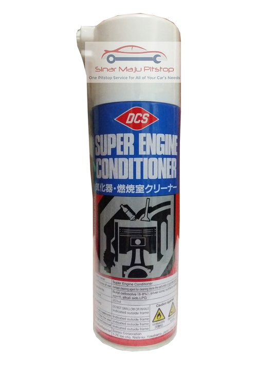 DCS Super Engine Conditioner Pembersih Ruang Mesin 203ml