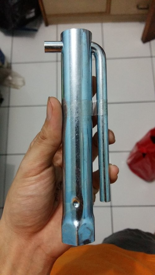 Kunci Busi Mobil Kualitas Export Bahan Stainless Steel 21mm