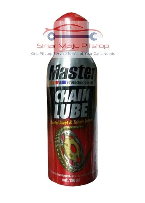 MASTER Chain Lube Pelumas Rantai Sepeda Motor Mobil 150ml