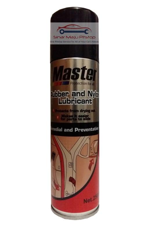 MASTER Rubber And Nylon Spray Perawatan Seal Mobil 250ml