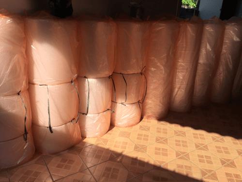 PROMO MURAH IRIT BUBBLE WRAP PLASTIK BUNGKUS 1 ROLL BESAR GOSEND GRAB