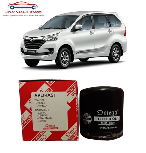 OMEGA Filter Oli Toyota Avanza And Toyota Rush Original