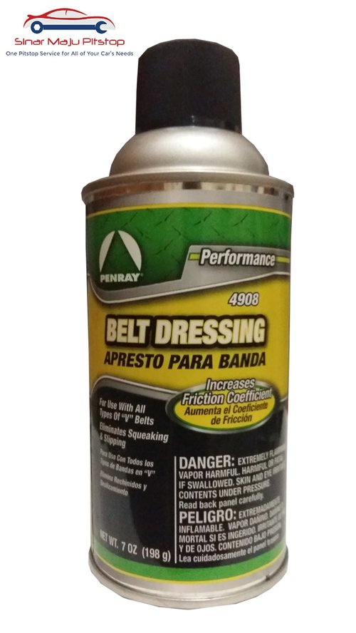 PENRAY Belt Dressing Fan And V-Belt Mobil Original 198gr