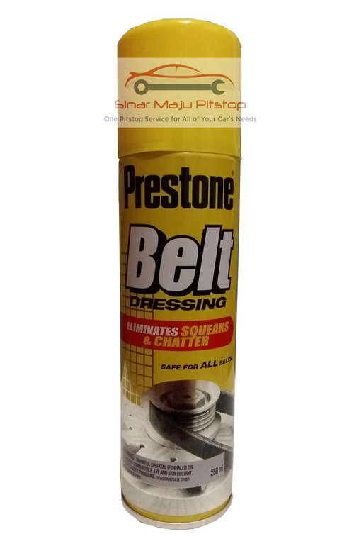 PRESTONE Belt Dressing Foam Mobil Motor Original 250ml