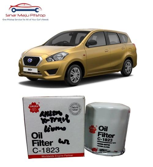 SAKURA Filter Oli Datsun Go Hatchback And GoPlus Panca