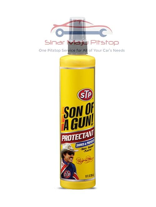 STP SON OF A GUN Cairan Perawatan Karet Plastik Mobil 295ml