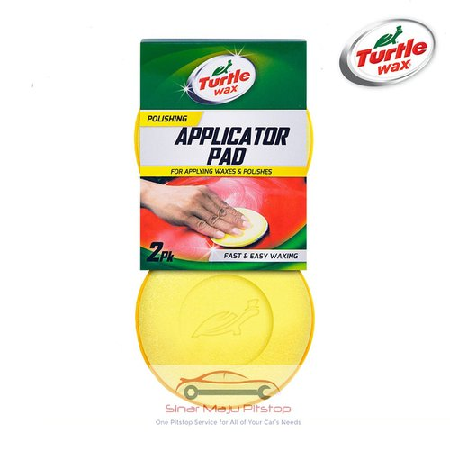 TURTLE WAX Applicator Pad For Applying Waxes and Polishes