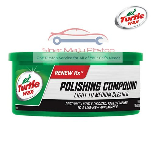 TURTLE WAX Polishing Compound - Penghilang Baret dan Goresan