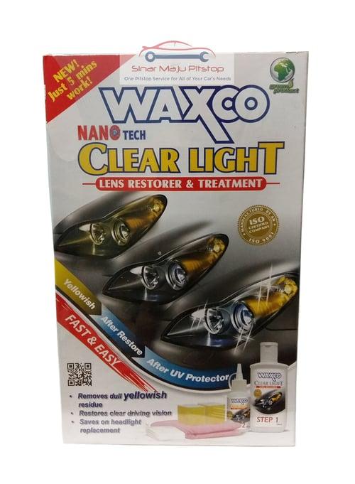 WAXCO Clear Light Cairan Pembersih Pemoles Headlamp Mobil