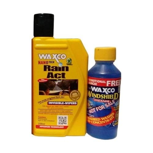 WAXCO Rain Act Pelapis Kaca Mobil Anti Air Hujan Original