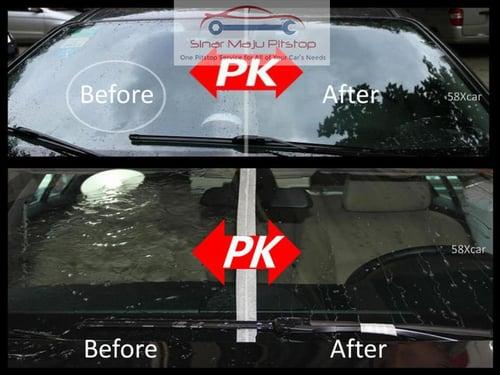 WAXCO Rain Act Pembersih dan Pelindung Kaca Mobil 250ml