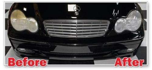 WAXCO Clear Light Pembersih Pengkilap Headlights Mobil