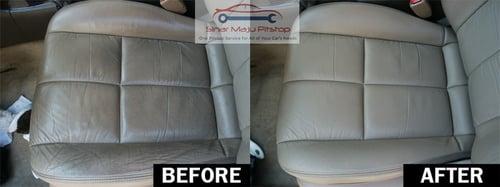 WAXCO Spray Pembersih Jok Kulit Interior Mobil 250ml
