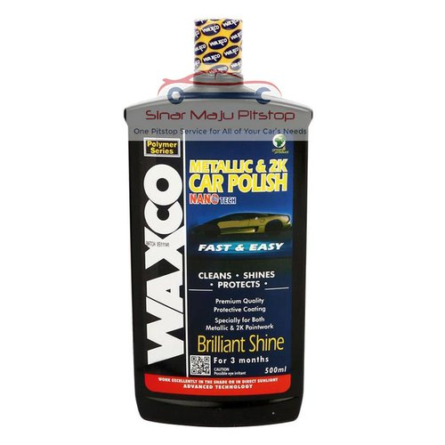 WAXCO Metallic And 2K Car Polish Pengkilap Cat Body Mobil