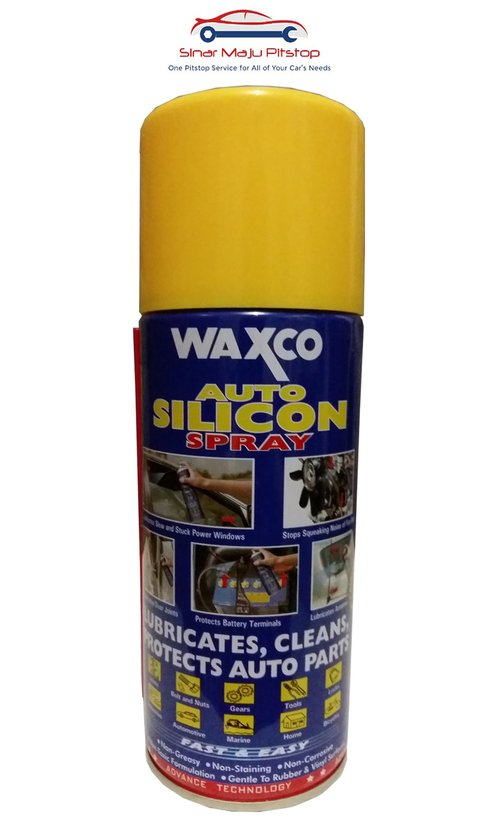 WAXCO Auto Silicon Spray Cairan Perawatan Karet 300 ml