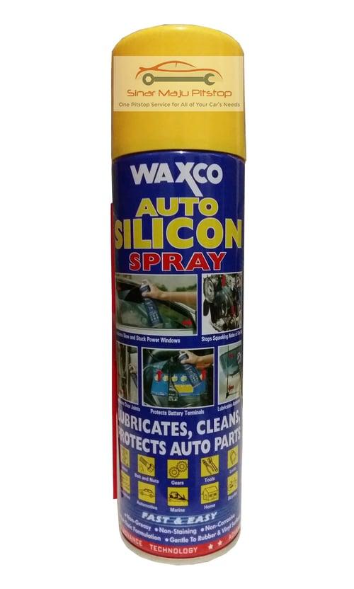 WAXCO Auto Silicon Spray Belt Dressing Motor Matic Ori 550ml