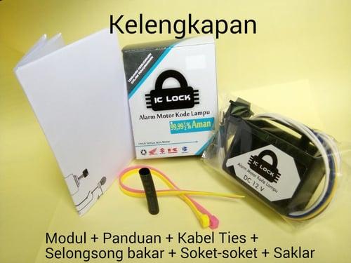 IC LOCK Alarm Sepeda Motor Tipe 1L 1 Sandi